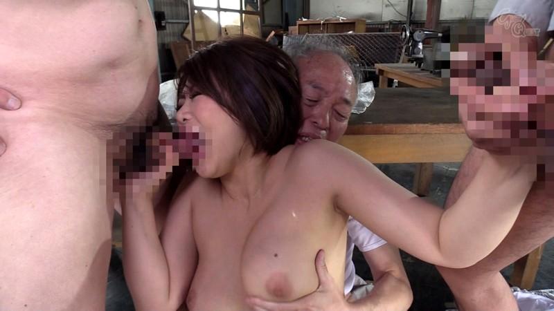 老働者に輪姦され性奴隷と化す巨乳未亡人 推川ゆうり の画像4