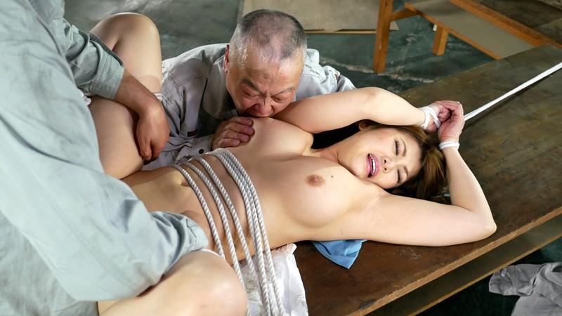 老働者に輪姦され性奴隷と化す巨乳未亡人 推川ゆうり の画像12