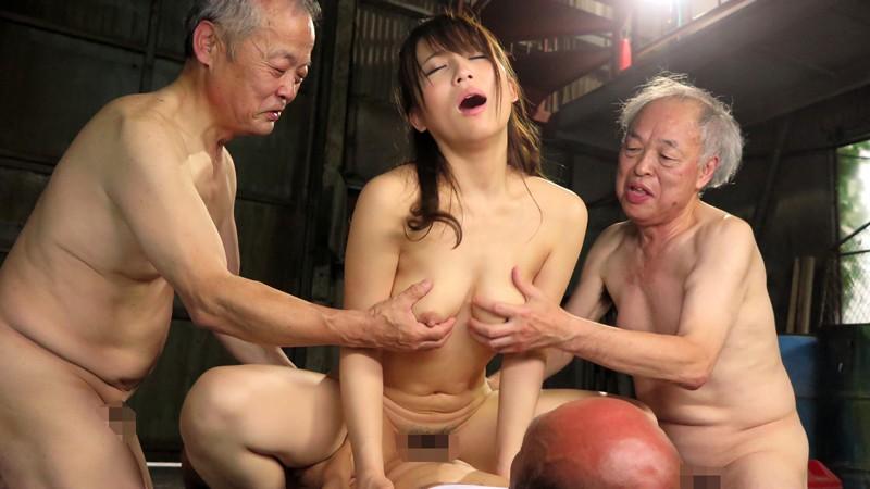 老働者に輪姦され性奴隷と化す巨乳未亡人 倉多まお の画像17