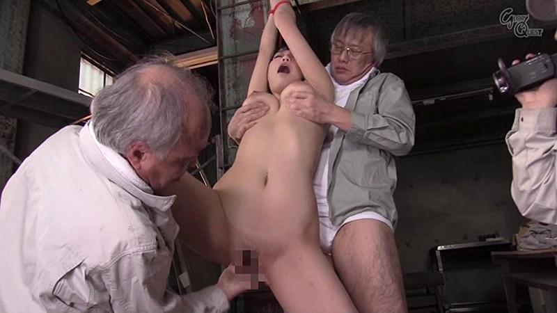 老働者に輪姦され性奴隷と化す巨乳未亡人 天野美優 の画像13