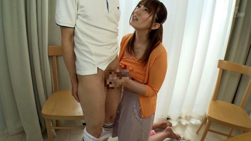 教え子のチ●ポに欲情するシ●タコン女家庭教師 波多野結衣 の画像15