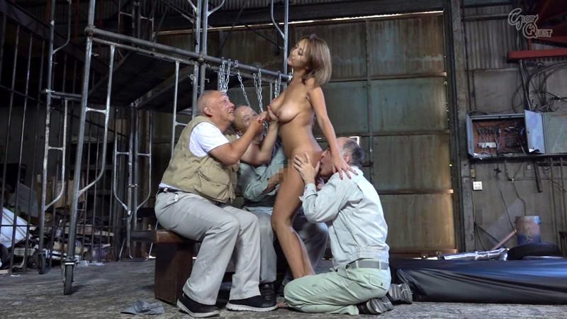 老働者に輪☆姦され性奴☆隷と化す巨乳未亡人 吹石れな 画像20枚