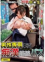 男性専用車両痴○路線バス
