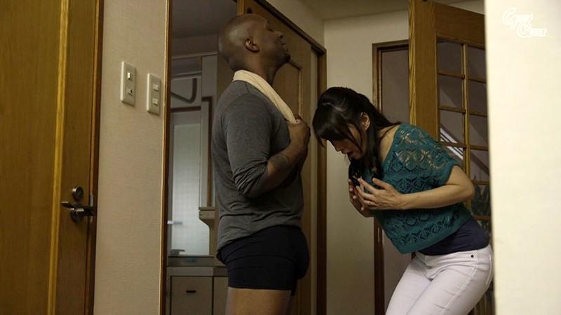ホームステイにやってきた黒人さんのデカち○ぽに発情した母さんBEST vol.1 の画像13