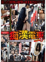 「痴漢電車 PART 9」のパッケージ画像
