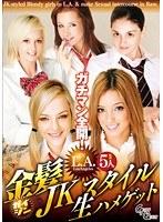 「金髪JKスタイル生ハメゲット」のパッケージ画像