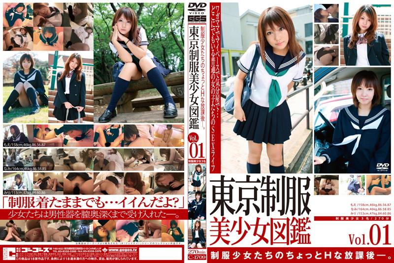 ホテルにて、制服のOLのキス無料えろ ろり動画像。東京制服美少女図鑑 Vol.1