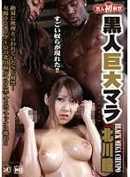 「黒人巨大マラ VS 北川瞳」のパッケージ画像