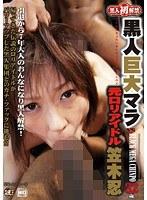 「黒人巨大マラ VS 元ロリアイドル 笠木忍 32歳」のパッケージ画像