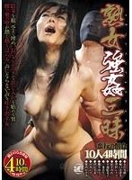 「熟女強○三昧 蛮行の餌食」のパッケージ画像