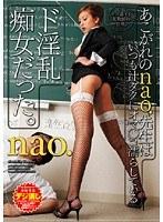 「あこがれのnao.先生はいつも汁ダクにオマ○コ濡らしているド淫乱痴女だった。 nao.」のパッケージ画像