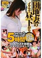 「団地妻のイケナイ昼下がり デラックス3 5時間」のパッケージ画像