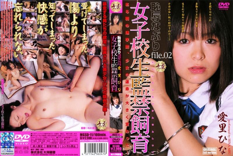 女子校生監禁飼育 恥辱なぶり file.02