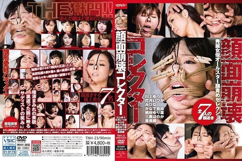 顔面崩壊コレクター 秀麗女優オールスター顔責めコレクション パッケージ画像