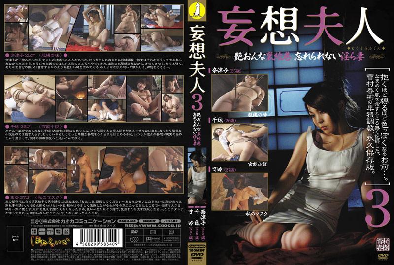 人妻、島本奈津子出演の縛り無料熟女動画像。妄想夫人 3