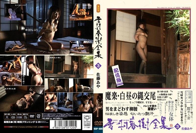 むっちりの人妻、佐藤あや出演の奴隷無料熟女動画像。雪村春樹全集 3 佐藤あや