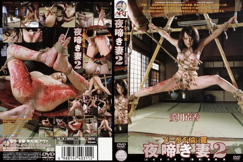 人妻、愛川京香出演の不倫無料熟女動画像。夜啼き妻 2 愛川京香