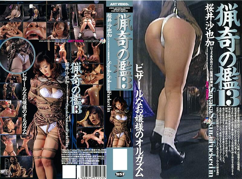猟奇の檻13 桜井沙也加 パッケージ画像