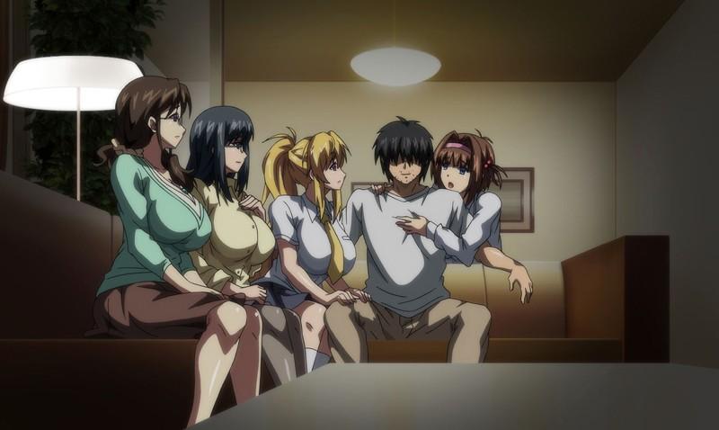 OVA巨乳大家族催眠 #2 町中全ての女を手に入れろ! の画像7