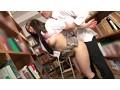 3時間以上図書館で受験勉強している真面目で気弱そうなメガネ美人女子校生は、机の下から足の親指で股間をグリグリといじっても何も文句が言えない女の子だった!調子に乗って更に責め立てたら、股間の周りが汗ばみ自ら腰を動かす超敏感むっつりド淫乱! 4