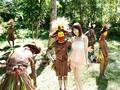 「野性の王国」2015 橘花音 地球最後の秘境で5万年前から変わらぬ生活を続ける原住民に日本のエロ文化を手取り足取り教えて生でヤる 2
