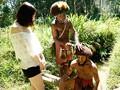 「野性の王国」2015 橘花音 地球最後の秘境で5万年前から変わらぬ生活を続ける原住民に日本のエロ文化を手取り足取り教えて生でヤる 5