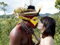 「野性の王国」2015 橘花音 地球最後の秘境で5万年前から変わらぬ生活を続ける原住民に日本のエロ文化を手取り足取り教えて生でヤる 6