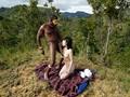 「野性の王国」2015 橘花音 地球最後の秘境で5万年前から変わらぬ生活を続ける原住民に日本のエロ文化を手取り足取り教えて生でヤる 8