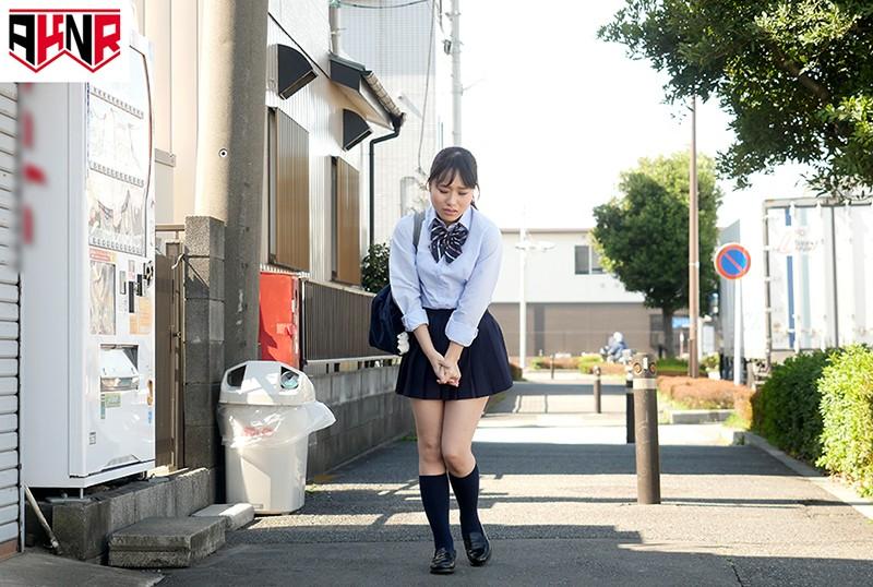 野ションを目撃されてプリプリお尻を大公開したままハメられた女子校生 の画像20