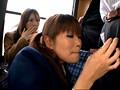 「通学バスで美淑娘だけに超舌フェラを見せつけさらに股間と股間を擦りつけたら?」VOL.1 サンプル画像10