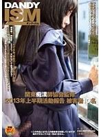 「関東痴漢師協会監修 2013年上半期活動報告 被害者10名」のパッケージ画像