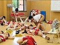 女子校チアガール部のスポーツドリンクに睡眠○を混入し絶対起きないムレムレ女生徒15人の身体をジックリもてあそぶド変態コーチの強化合宿 15