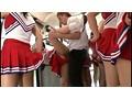 ムレムレチアガールバス 2 チアブル湿度数200%… 運動直後のムレた女子大生満員バスでチラリズムに導かれて強制発射! 5