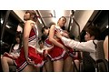 [DVDES-539] ムレムレチアガールバス 2 チアブル湿度数200%… 運動直後のムレた女子大生満員バスでチラリズムに導かれて強制発射!