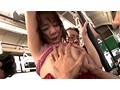 ゲリラ豪雨に打たれてビショ濡れスケスケ娘のパンパンに張った若乳鷲づかみバス 3 9
