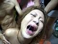 渋谷ギャル捕獲8匹 強制ゲロゲロイラマチオ サンプル画像5