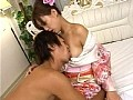 おしゃれな和服で淫語手コキ四十八手 15