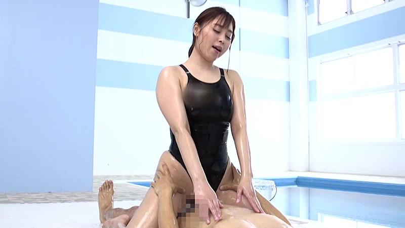 競泳水着の女 小川桃果のサンプル画像5