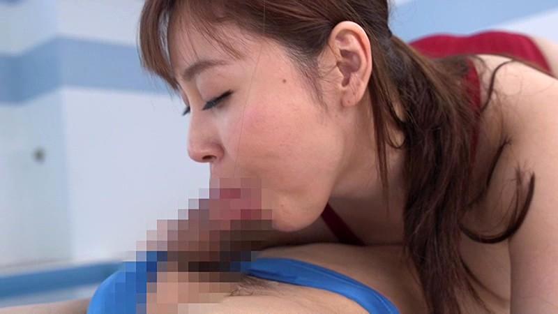 競泳水着の女 小川桃果のサンプル画像9