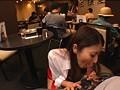 お洒落なカフェで働くギャル店員にギンギンに勃起したチ○ポをさりげなく見せつけ発情させてコッソリSEX!!! サンプル画像4