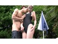 競泳水着の高身長若妻と勃起チ○ポ 鈴木杏里 10