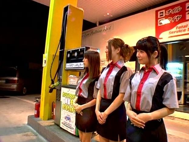 レギュラー1リットル500円!!ハーレムガソリンスタンド