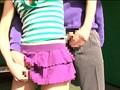 ゴルフ練習場で激ミニスカートの奥はまさかのノーパン!?挑発的マンチラでフルスイングするゴルフ娘は即ヤリ発情モード! 13