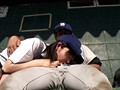 全国大会常連の名門野球部の女子マネージャーは、試合の重要な局面で必ずベンチ裏でそっとヌイてあげ、ナインを万全の状態でグラウンドに送り出していた! 19