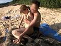 水着を奪い取れば勝利!! 真夏のド素人ローション相撲 負けたら浜辺でスケベな罰ゲーム! 11