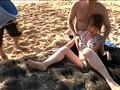 水着を奪い取れば勝利!! 真夏のド素人ローション相撲 負けたら浜辺でスケベな罰ゲーム! 17