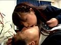 ミニスカでチャリをこいでいるパンツ丸見えの美脚女子は、そのお股をじ〜っくり見てやれば、こっそり股間をサドルに擦り付けマ○コを濡らしヤラレたがる! サンプル画像5