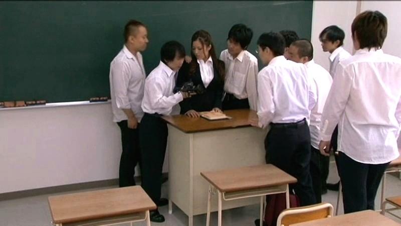 女教師 中出し20連発 花井メイサ の画像10