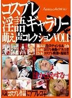 「コスプレ淫語ギャラリー 萌え声コレクション VOL.1」のパッケージ画像