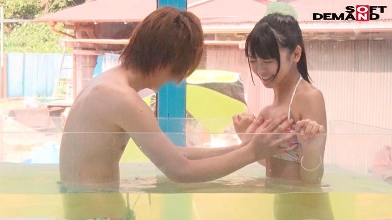 【DMM動画】-『のぞみ(21)女子大生 マジックミラー号 水着美女が素股マッサージで真正中出し!』 画像20枚